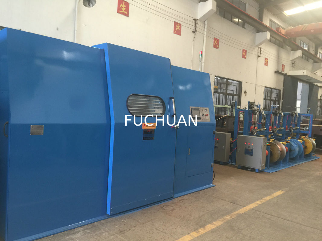 High Productivity Enamelled Wire Bunching Machine 30Kw With Touch ...
