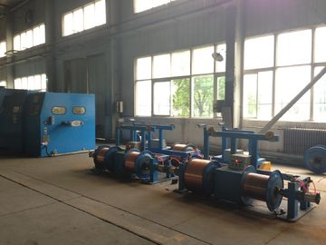 China Industrial Large Wire Bunching Machine For Bare Copper Wires , Tinned Wires factory