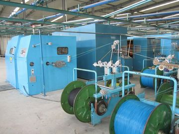 China Touch Screen Interface Copper Wire Twisting Machine , Cable Wire Buncher Machine distributor