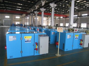 China FUCHUAN Knob Control Wire Twisting Machine 10 Zones 6000 Twist Rotating Speed factory