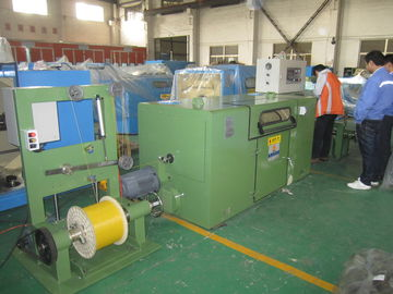 China Sky Blue Wire Take Up Machine / High Performance Wire Twist Machine factory