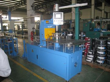 China 500M / Min Double Twist Bunching Machine , Automatic Cable Coiling Machine factory