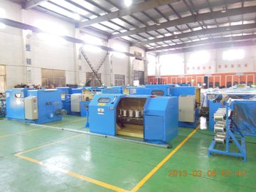 China Stable Copper Wire Twisting Machine , Wire Pay Off Machine 3000 RPM factory