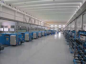 China Blue Normal Wire Twisting Machine Double Twist For Bunched Copper Wire Pay Off factory