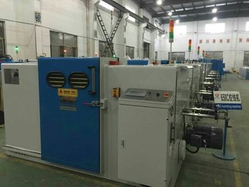 China High Power Double Twist Buncher / Eco Friendly Wire Bunching Machine factory