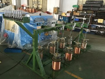 China Powerful Double Twist Bunching Machine For Bare Copper Wire / Tinned Wires distributor