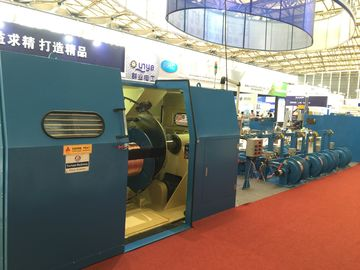China Cable Double Twist Bunching Machine , Plastic Wire Bunching Machine factory