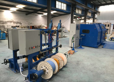 China Copper Wire single cable machine / cable laying machine Dia 0.6-3mm distributor