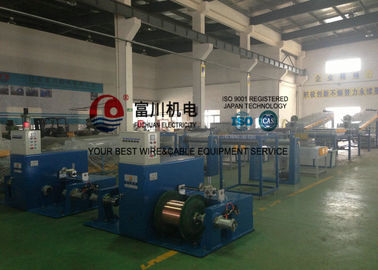 China Sky Blue 24Pcs Wire Annealing Machine For Single Wire Dia 0.04 - 0.127mm distributor
