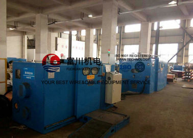 China Copper  Wire Twister Machine / Twisting Machine For Regular 1+6+12 Conductors factory