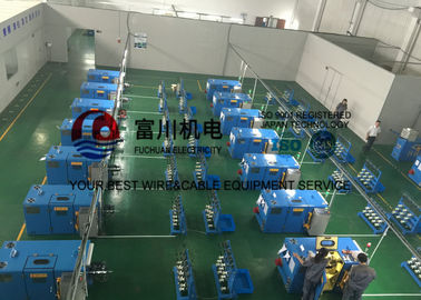 China Passive / Active Pay Off Copper Wire Bunching Machine For 0.08mm - 0.45mm Copper Wire factory