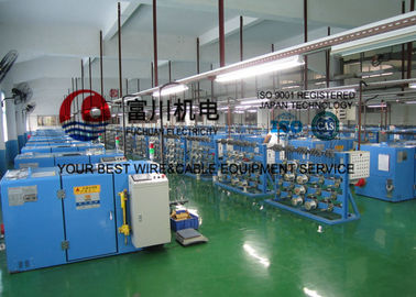 China 180 Passive / Active Pay Off Copper Cable Twisting Machine Easy Operation factory