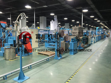 China Fuchuan PVC Extrusion Machine For Power Cable Wire Dia 6-25mm With Screw 90mm distributor