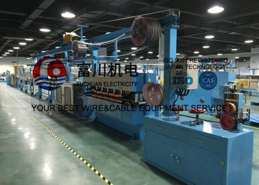 China Fuchuan PVC Extrusion Machine , Wire Insulated And Sheathed Production Line distributor