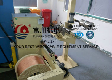 China FC Cable Extrusion Machine , FEP FPA ETFE Plastic Extrusion Line With Screw Dia 35mm distributor