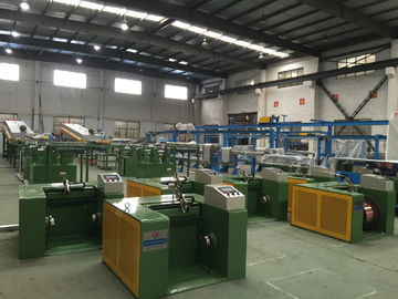 China Alloy Wire Copper Cable Coiling Machine For 40pcs Tinned Annealed Copper Wire distributor