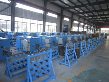 China Eco Friendly Copper Wire Bunching Machine ZL104 Aluminum Plate 2.2KW AC Motor factory