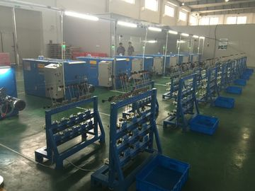China Belt Drive Wire Twister Machine / Wire Extrusion Machine Easy To Operate distributor