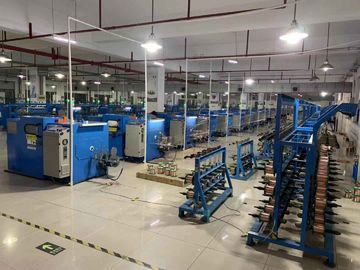 China Good Stability Wire Binding Machine , Automatic Double Twist Buncher factory