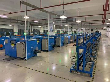 China Electrical Control Copper Wire Bunching Machine Touch Screen Interface Operation factory