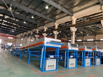 China Electric Copper Cable Coiling Machine , Automated Copper Wire Tinning Machine distributor