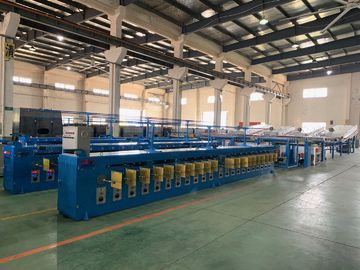 China Hot Dip Tinned Wire Annealing Machine For Ultra Fine Round Copper Wire distributor