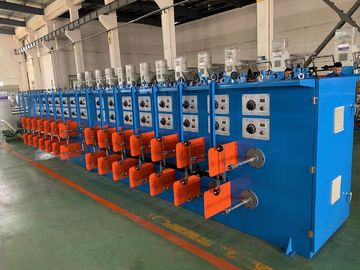 China Industrial Wire Tinning Machine , Fully Automatic Wire Stripper 0.15-0.64mm Wire distributor