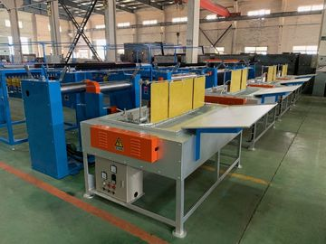 China Brush Pay Off Wire Annealing Machine With Tube Type Tinning Furnace distributor