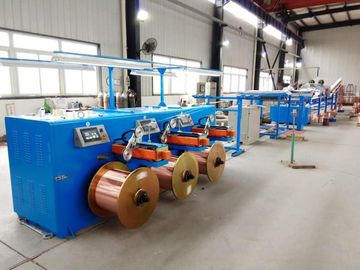 China Touch Screen Operation Copper Wire Tinning Machine / Induction Annealing Machine distributor