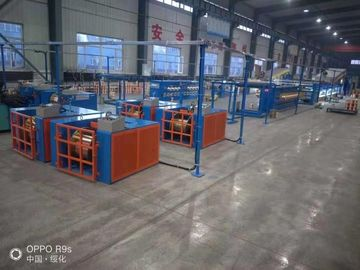 China Customized Fine Wire Drawing Machine With Continuous Annealing φ0.41~φ0.64mm factory