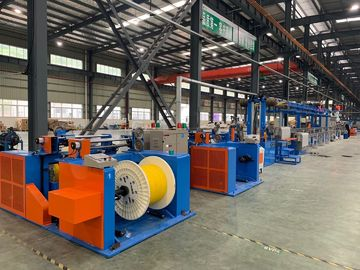 China Custom Pvc Wire Making Machine / OEM Cable Wire Manufacturing Machines distributor