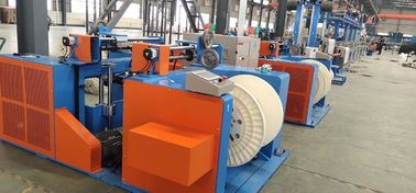 China PLC Control Wire Extrusion Machine , Electric Cable Making Machine 45KW factory