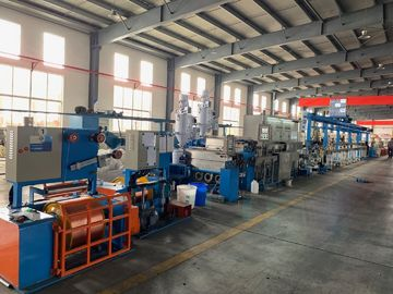 China High Power Wire Extruder Machine For LAN Cable 2 Φ2.5-3.0mm Diameter factory