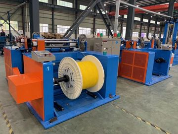 China Industrial Copper Wire Twisting Machine , Copper Busbar Punching Machine factory