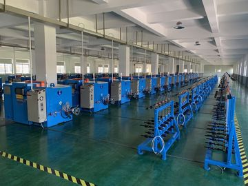 China High Speed Copper Wire Bunching Machine With Automatic Tension Control factory