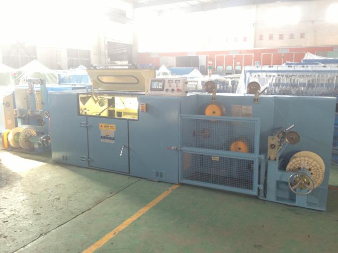 Silver Jacketed Wire Twisting Machine , Diameter 800mm Wire Twister Machine