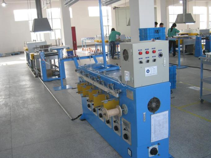 0.03mm - 0.08mm Tiny Wire Annealing Machine 26Kw Take Up Control