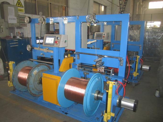 185mm - 300mm Double Twist Buncher Core Wire Rewinding Machine