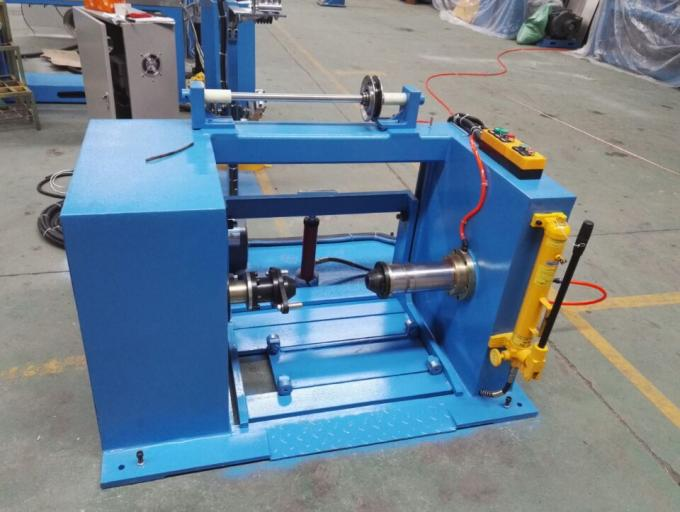 ISO Double Twist Bunching Machine 1600mm Copper Active Wire Pay Off Machine