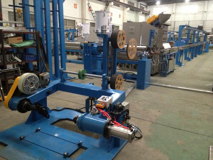 DC 3 phase Annealing Type PVC Extrusion Machine Extrude BV Building Wire