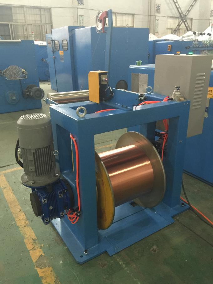 Normal Wire Take Up Machine For 630mm Bobbin Double Twist Buncher