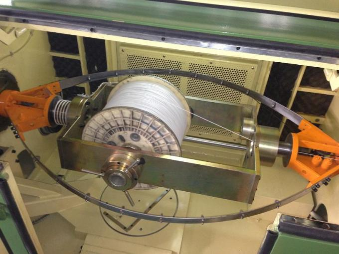 2500RPM Bare Copper Wire Twisting Machine 3.7Kw For High Frequency Data Cable