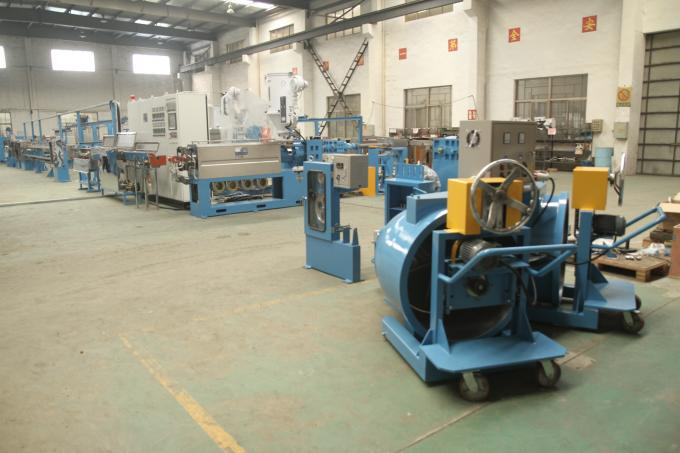 Speed Automobile Wire Extrusion Machine 60Kg / H Extrusion Output