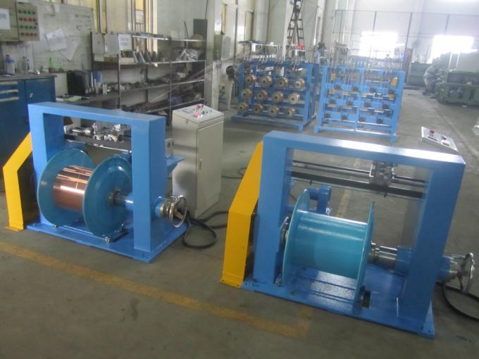 Sky Blue Automobile Wire Rewinding Machine 600M / Min Motor Control
