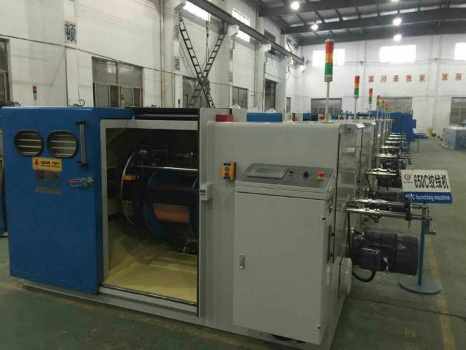 Fuchuan FC-650C Normal Wire Twisting Machine with Stranding Section Area 0.3 to 4 mm2