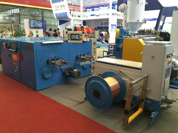 Bare Copper Wire Bunching Machine / double twist cable bunching machine