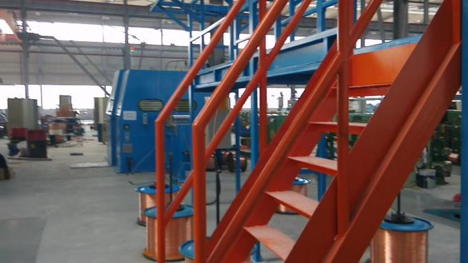 Wire Bunching Process Wire Twist Machine
