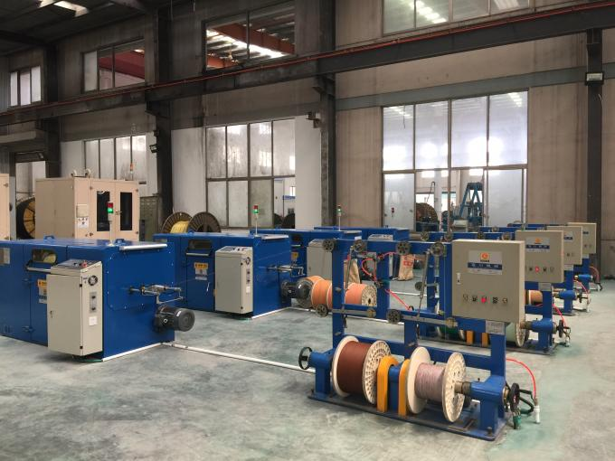 Bare Copper Wire Bunching Machine / Equipment 6000 Twist 6.3mm - 52.3mm Pitch