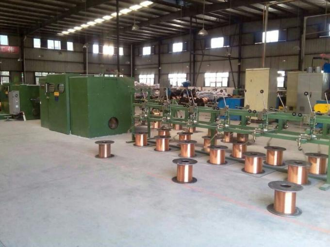 Copper Wire Bunching Machine With Electromagnetic Brake 0.41 / 0.52 / 0.64mm