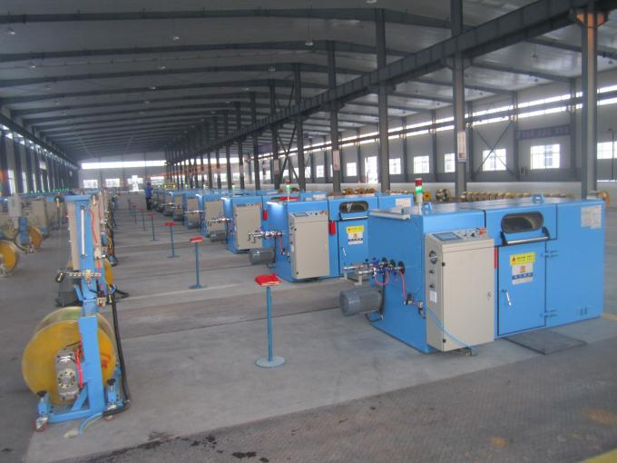 Normal Copper Wire Bunching Machine 34 Zones Adjudtable Winding Pitch